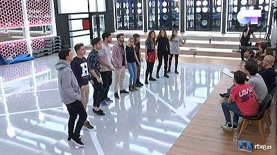 Operación Triunfo - Los concursantes cantan 'Shake it off' en el primer pase de micros
