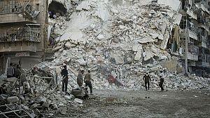 Los últimos de Alepo: Los últimos hombres en Alepo
