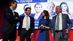 Manuel Valls y Mario Vargas Llosa apoyan a Inés Arrimadas como candidata a la Generalitat