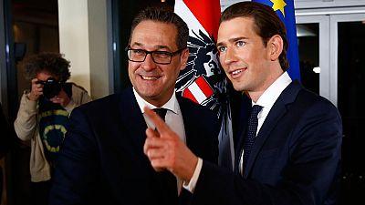 Los conservadores han pactado con los ultranacionalistas para gobernar Austria