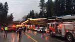 El descarrilamiento de un tren en EE.UU. deja varios muertos y decenas de heridos
