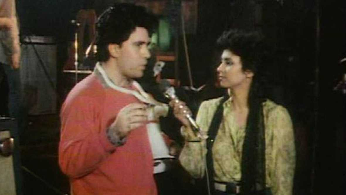 Pedro Almod�var en 'Producci�n Espa�ola' (1982)