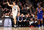 Un Gasol de récord lidera la victoria de los Spurs