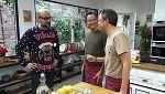 Torres en la cocina - Tartar de tomate y bao de panceta