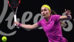 Tenis - WTA Torneo Brisbane (Australia) 1/4 Final : A. Krunic - A. Sevastova