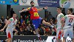 """Balonmano - Torneo Internacional """"Memorial Domingo Bárcenas"""": España-Bielorrusia"""