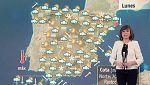 Lluvias en Andalucía y temperaturas bajas