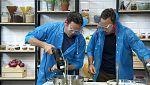 Torres en la cocina - Cardo con mejillones y natillas de mantecados