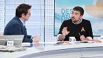 Los desayunos de TVE - Ramón Espinar, portavoz de Podemos en el Senado