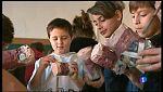 Els nins i les nines de Manacor assagen les cançons de Sant Antoni.