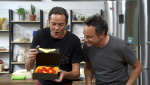 Torres en la cocina - Huevos dragón y pudin de panettone
