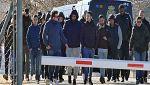 Hinchas radicales del Sevilla acuden al entrenamiento para pedir explicaciones