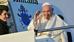 El papa Francisco emprende viaje a Chile y Perú