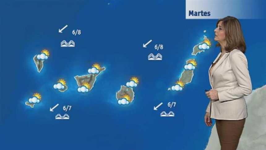 El tiempo en Canarias - 16/01/2018