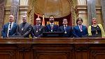 Roger Torrent (ERC) elegido nuevo presidente del Parlament con el voto de los independentistas