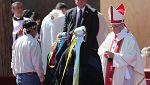 El papa insta a renegar de la violencia en la lucha de los pueblos indígenas por su reconocimiento