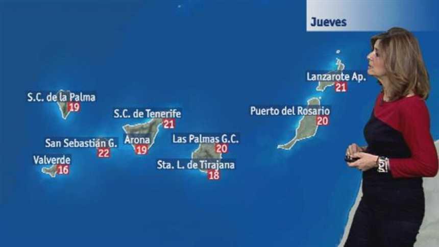 El tiempo en Canarias - 18/01/2018