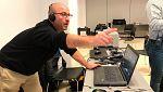 Probamos la retransmisión multicámara inalámbrica en Fitur 2018