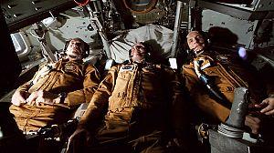 Apolo-Soyuz, cita en el espacio