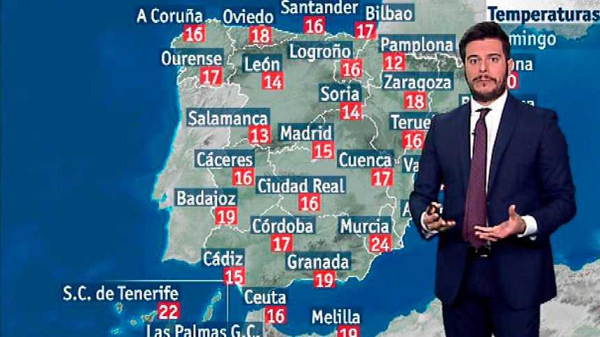 Subida generalizada de las temperaturas y fuertes vientos en el norte peninsular y Baleares