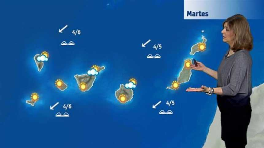El tiempo en Canarias - 23/01/2018
