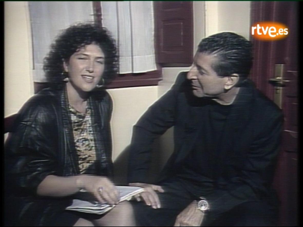 Beatriz Pecker entrevista a Leonard Cohen