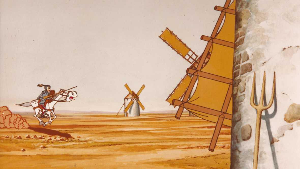 Worksheet. Don Quijote de la Mancha  Serie de dibujos animados 1979