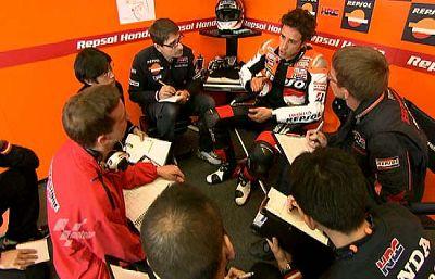 La lucha por el título de MotoGP 2009 se antoja muy reñida, con pilotos como Dovizioso, Elías, Gibernau o Capirossi.