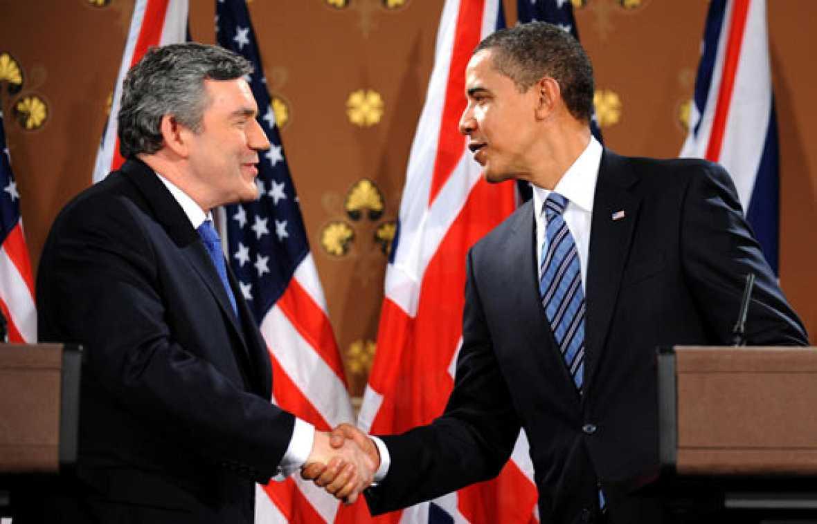 """Obama pide medidas """"urgentes"""" contra la crisis al G-20"""