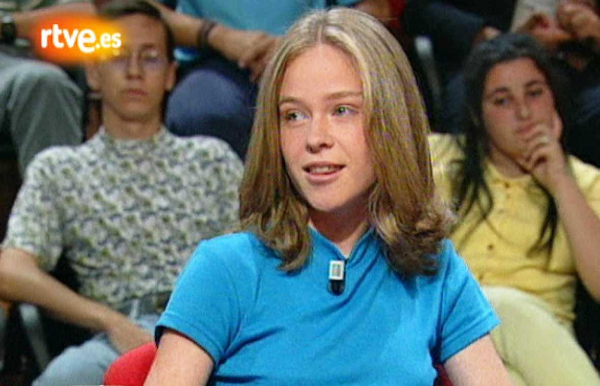 Celia. Cristina Cruz, unos años después...