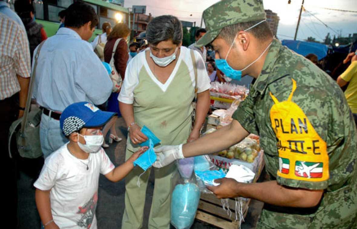68 muertos en México por la gripe porcina