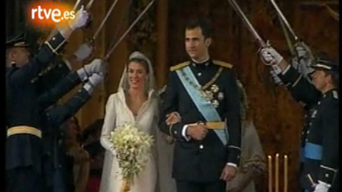 Cinco años de la boda del Príncipe Felipe con Letizia Ortiz (2009)