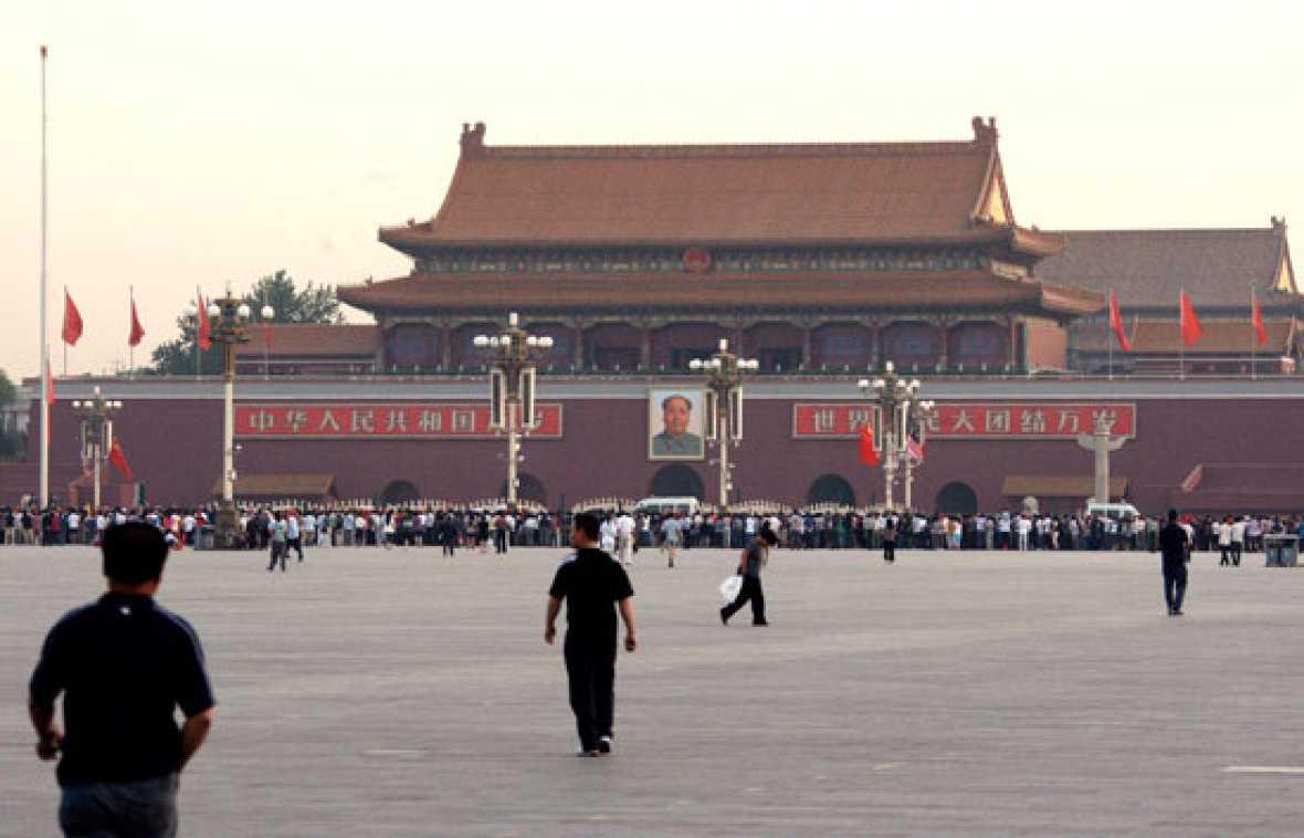 El silencio se apodera de Tiananmen veinte años después