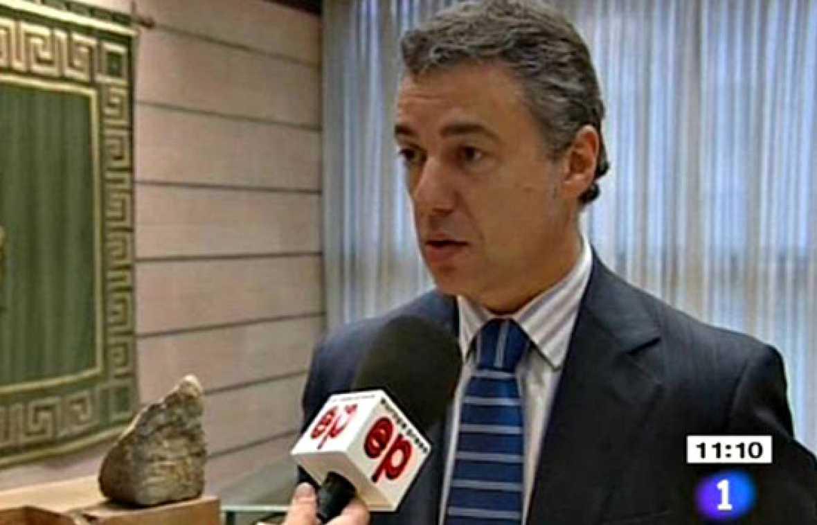 """Urkullu pide que se condene el atentado """"dejando al margen las valoraciones políticas"""""""