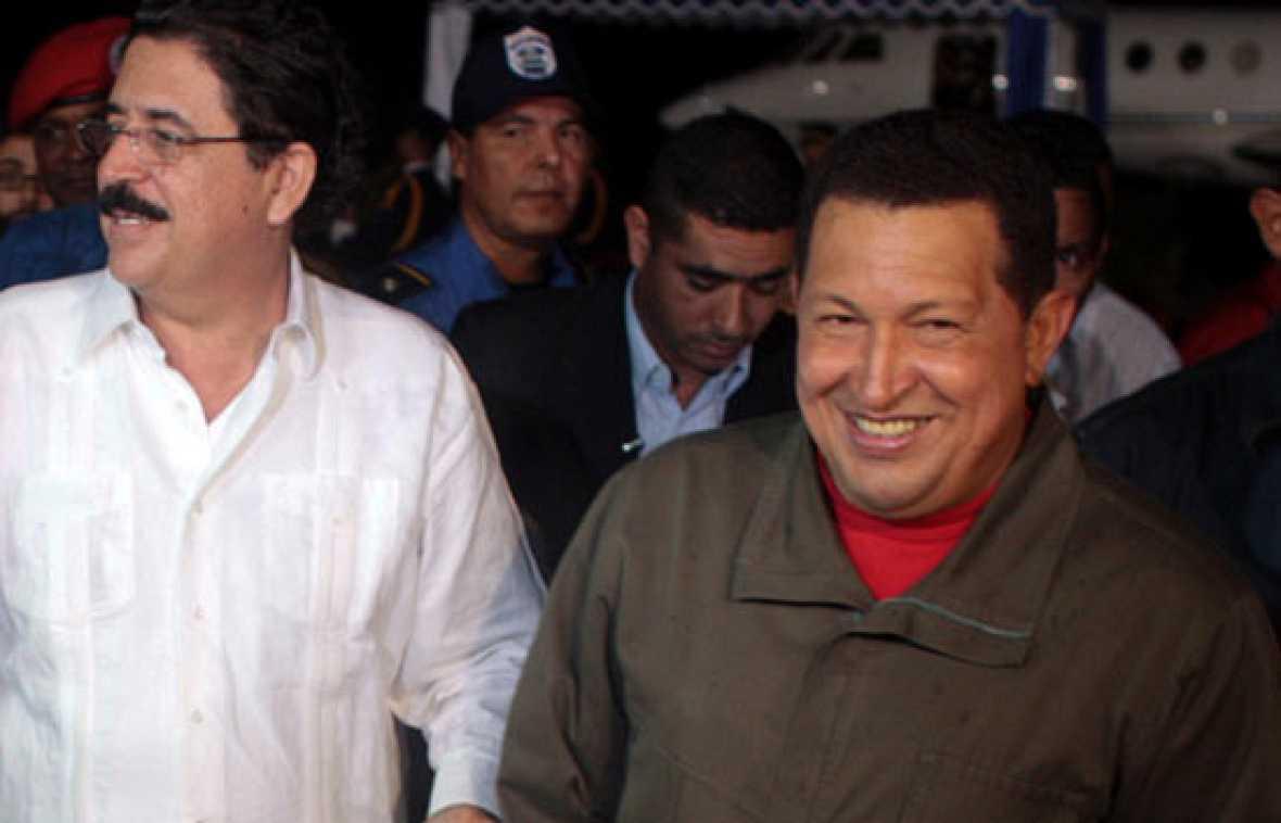Los líderes de la Alianza Bolivariana para las Américas (ALBA) exhortan a los hondureños a levantarse contra los golpistas, que han depuesto al hasta ahora presidente Manuel Zelaya.