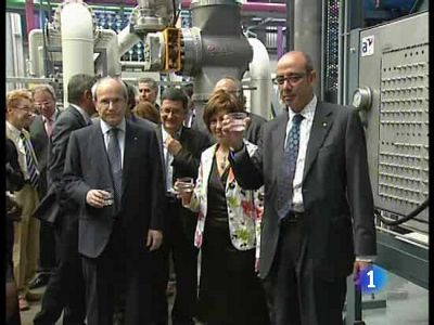 Nueva desalinizadora en Barcelona