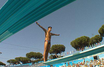 Javier Illana se ha metido en la final de saltos de trampolín desde 3 metros, tras acabar en séptimo lugar.