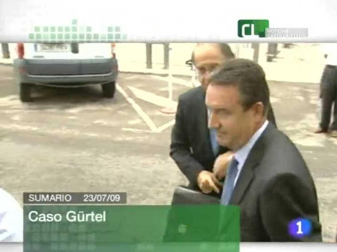 Informativo Territorial. Noticias de Castilla y León.(23/07/09)