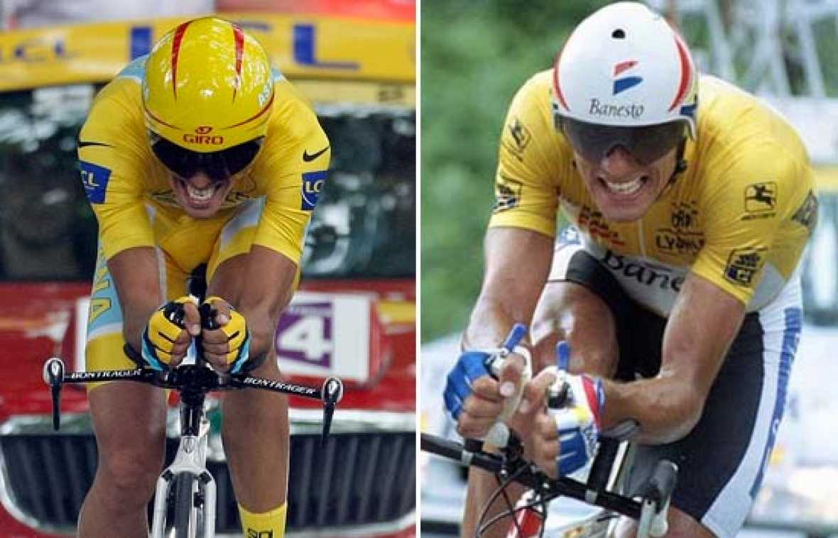 Contador gana también la contrarreloj