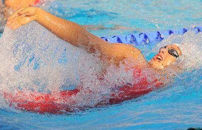 El nadador de Sabadell fue quinto con un tiempo de 1:54.92, nuevo récord de España.