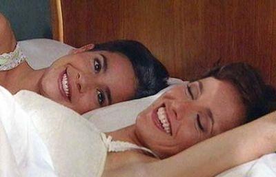 Ana y Teresa, escenas de cama
