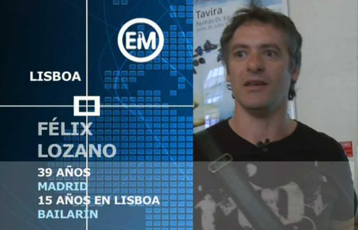 Españoles en Lisboa. Félix