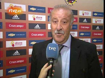 """Del Bosque: """"Nos conviene sufrir"""""""