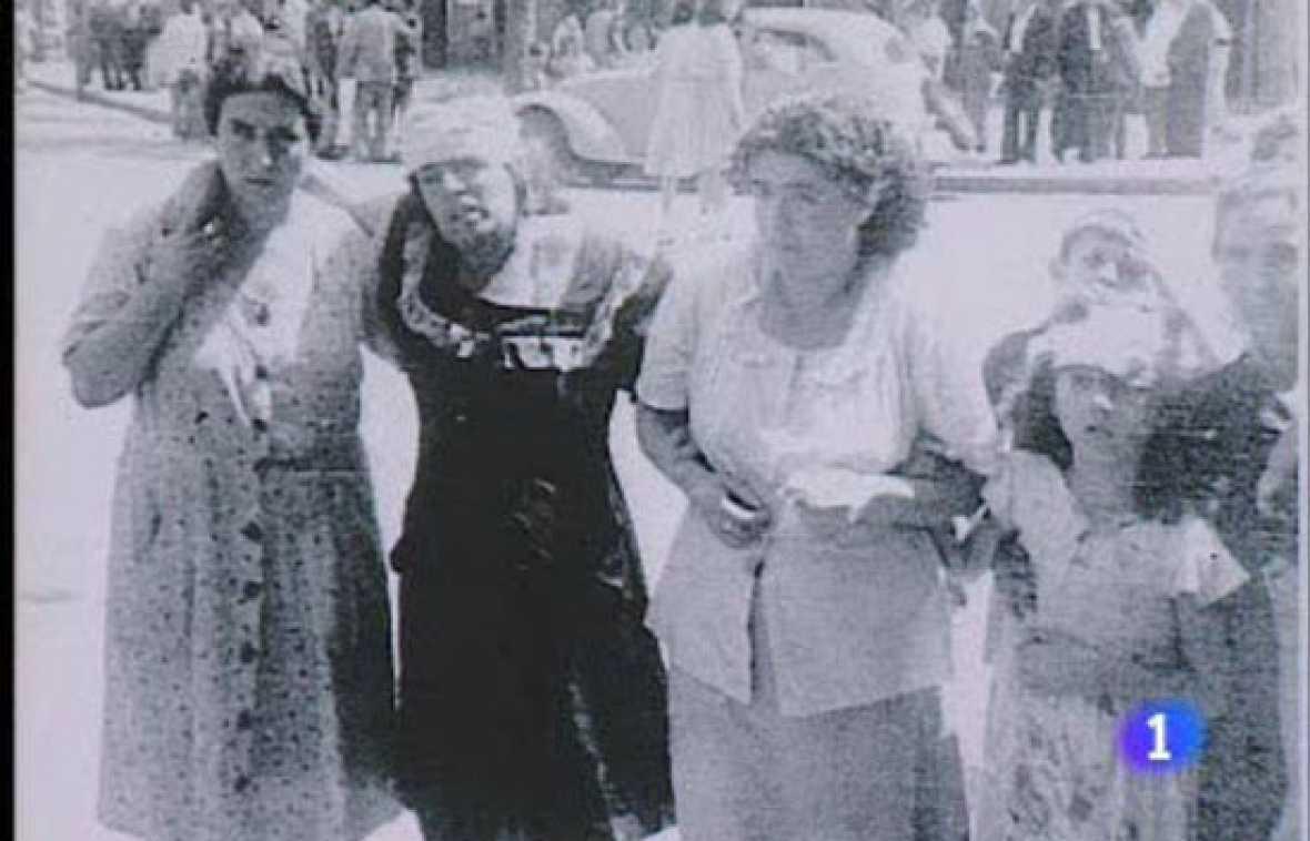 Explosión en Cádiz, 1947.