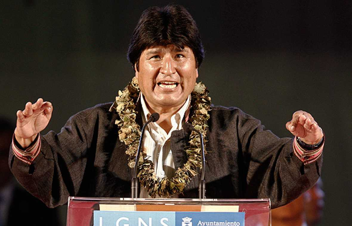 El presidente de Bolivia, Evo Morales, ha empezado su intensa visita de tres días en España.