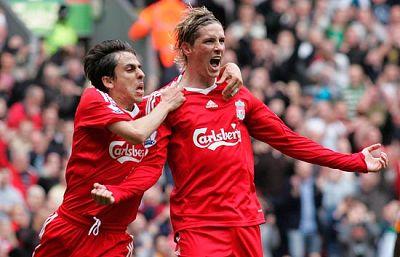 El Liverpool golea en Anfield