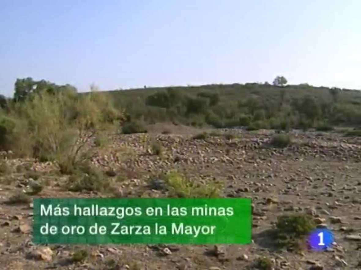 Noticias de Extremadura. Informativo Territorial de Extremadura. (29/09/09)