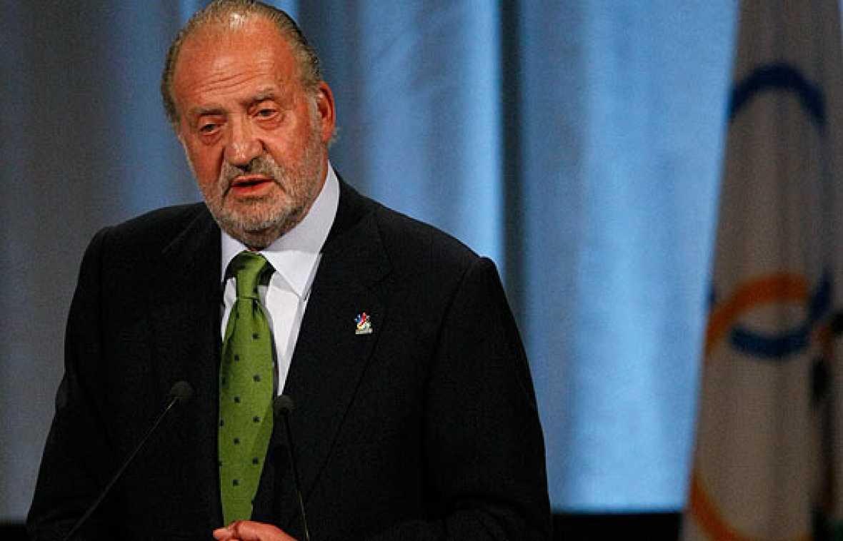 """El Rey Juan Carlos ha asegurado en su intervención ante el COI que el voto por Madrid es un voto seguro y es sinónimo del """"éxito total de los Juegos Olímpicos y Paralímpicos""""."""