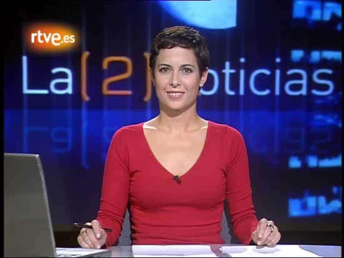 Los comienzos de Mara Torres en 'La2 Noticias' (octubre 2006)