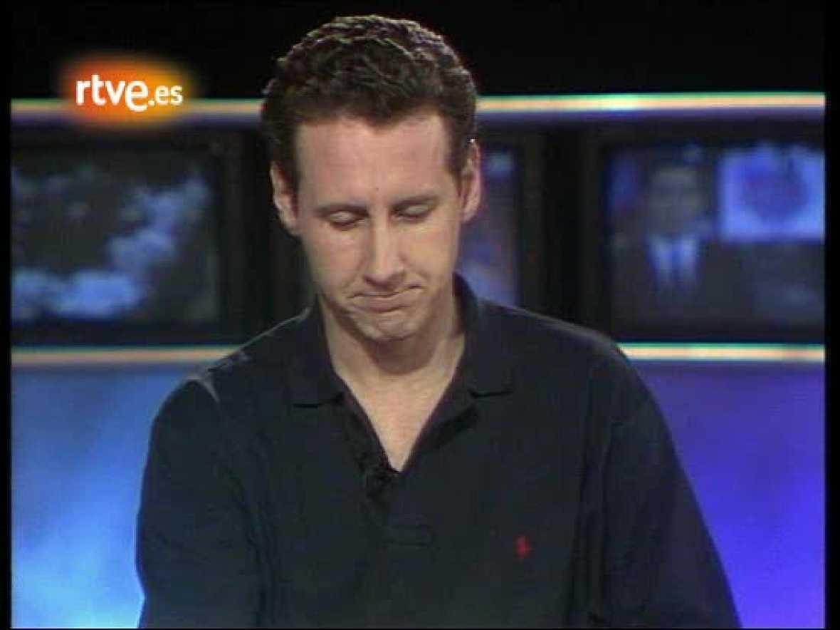 Los comienzos de Lorenzo Milá en 'La2 Noticias' (enero 1995)